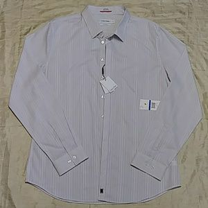 Calvin Klein Slim Fit Dress Button Down Shirt